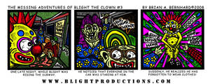 Blight the Clown Comic 3