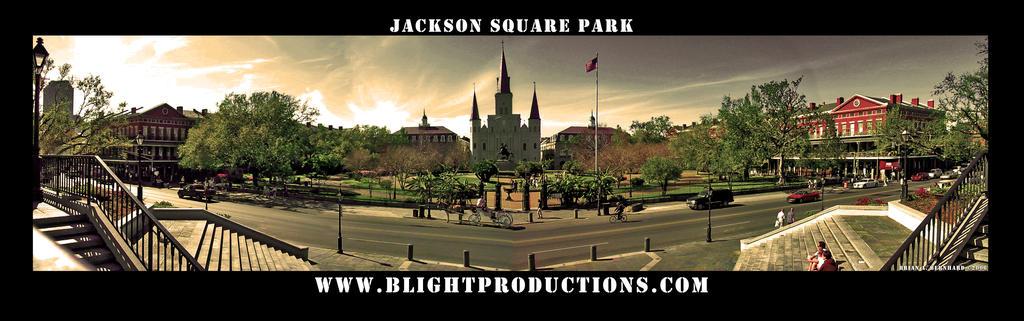 Jackson Square Park Panorama