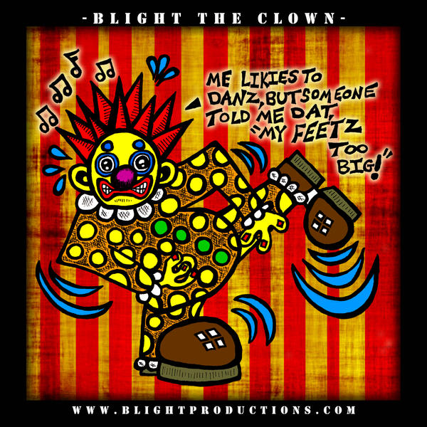 Blight the Clown Drawing 4 by BrianABernhard
