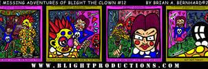 Blight the Clown Comic 12a-d