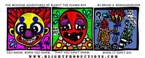 Blight the Clown Comic 14