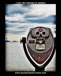I see the Brooklyn Bridge