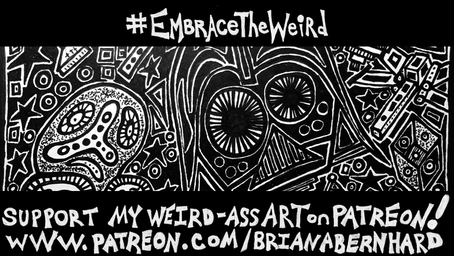 Vader Me Some Love #EmbraceTheWeird #01 by BrianABernhard