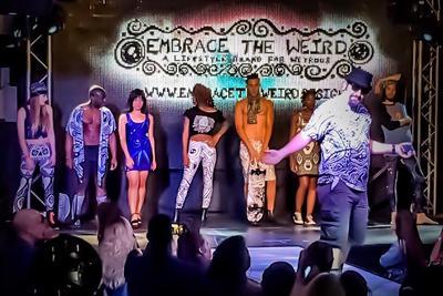 My 1st Embrace the Weird fashion show! by BrianABernhard