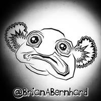 A weird little blob fish (in progress)