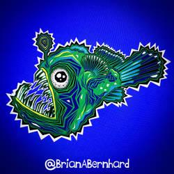 I made an Angler Fish!