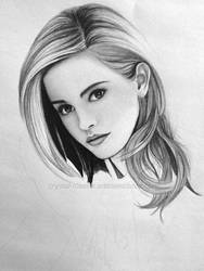 Emma Watson WIP by rosene547