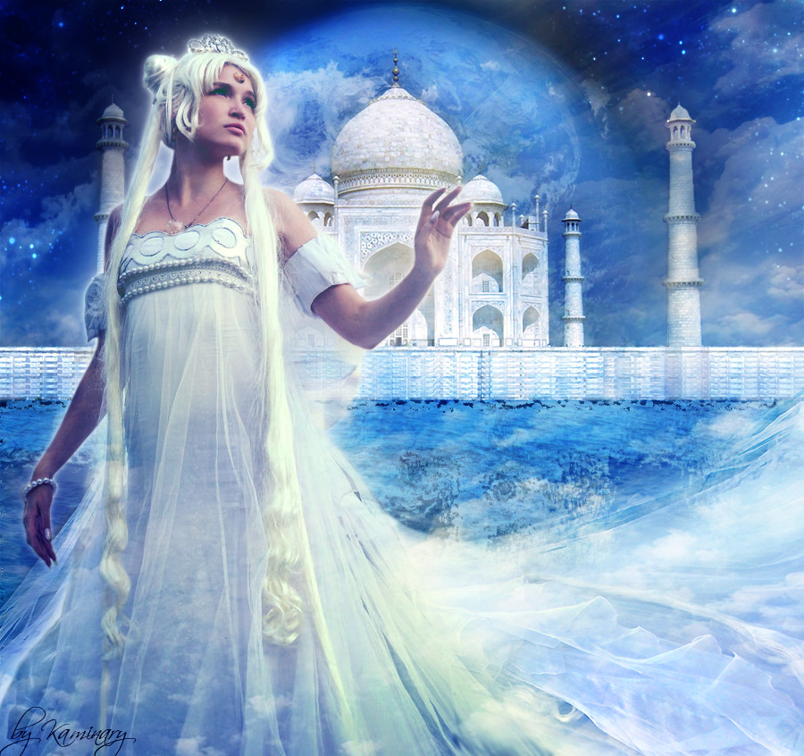 Neo Queen Serenity-The Moon By Kaminary-san On DeviantArt