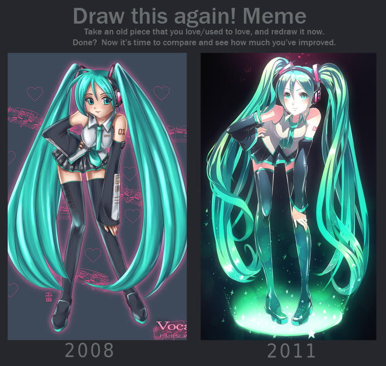 Meme: Before and After by kaminary-san