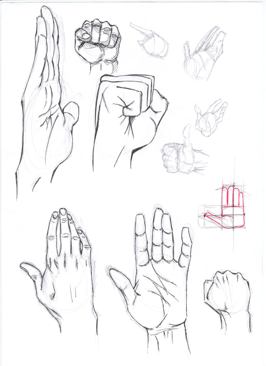 how to draw anime hands on hips