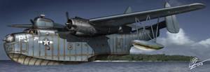 Martin PBM aircraft