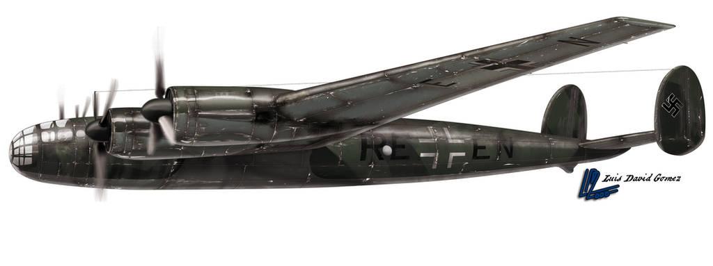 Messerschmitt Me 264 by araeld