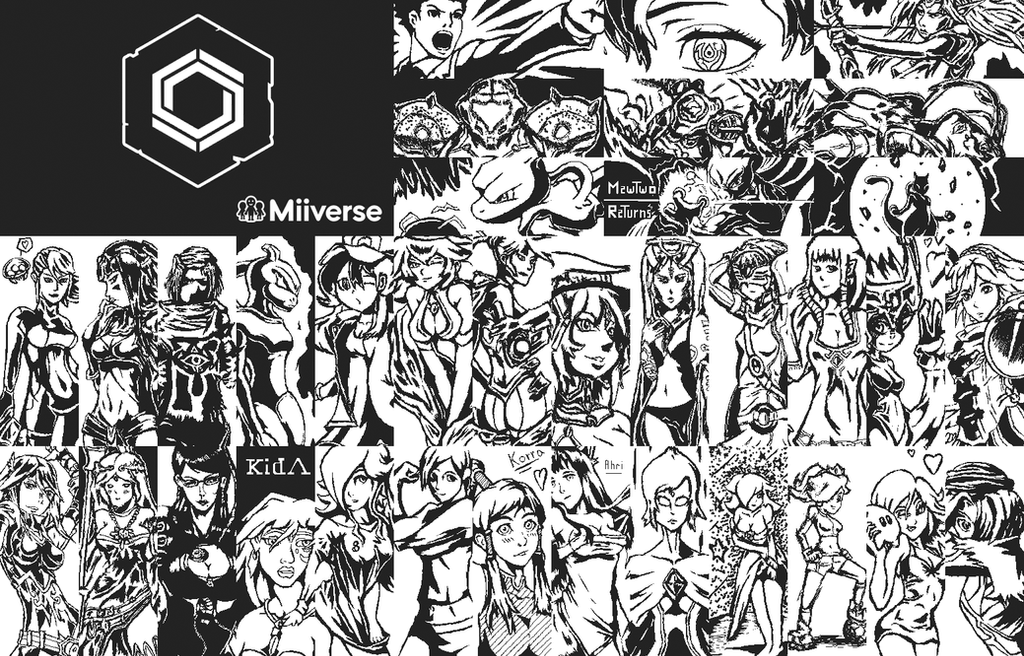 My drawings of miiverse by Camixo-Production