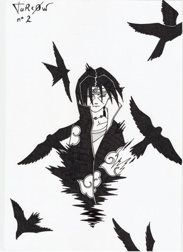 Itachi Crows By TuRc0W