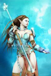 Battle Mage by Art-By-Mel-DA