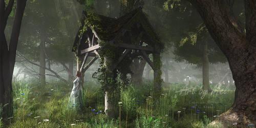 A Place of Secrets by Art-By-Mel-DA