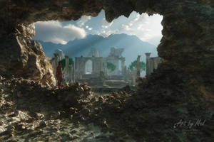 The Lost City of H'sthiris by Art-By-Mel-DA