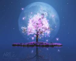 The Fairy Tree by Art-By-Mel-DA