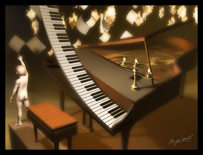 'Allegro ma non tanto' by vespertino