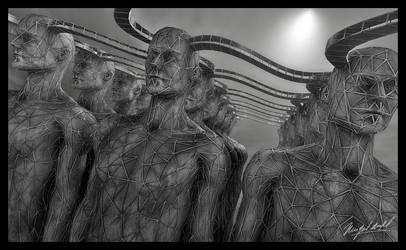 Estructura humano-colectiva by vespertino