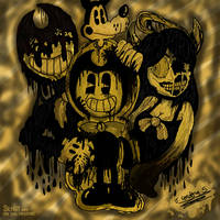 :BaTIM: The Demon, The Angel and... The Wolf by JavierDraws31