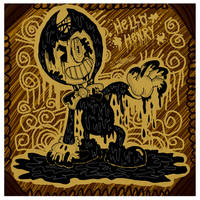 :BaTIM: Creepy Ink // Tinta Espeluznante by JavierDraws31