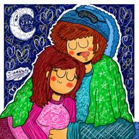 :GIFT: Good Night My Love x333333 uwu nwn x333333 by JavierDraws31