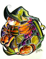 Secret Halloween Exchange by yami11