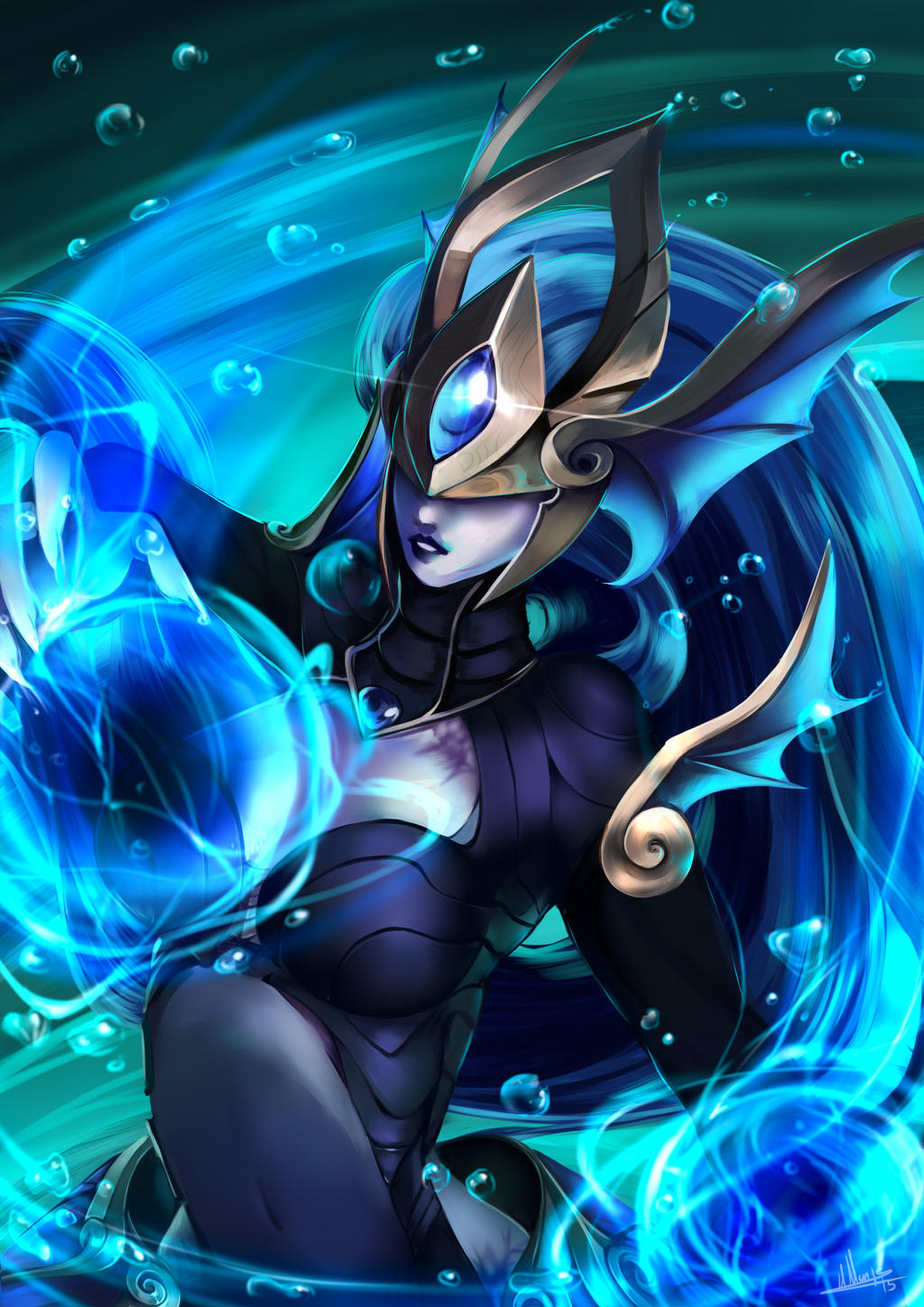 atlantean syndra comission by yami11 on DeviantArt