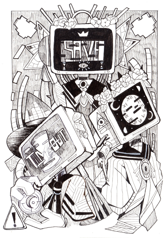 Virtual Moira by yami11