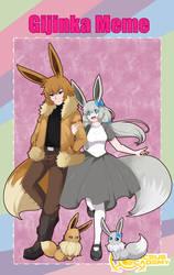 [AA3]- Gijinka meme- Cedrick y Ellie by yami11