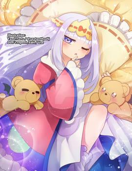 Print comission- Princess Syalis for Kira