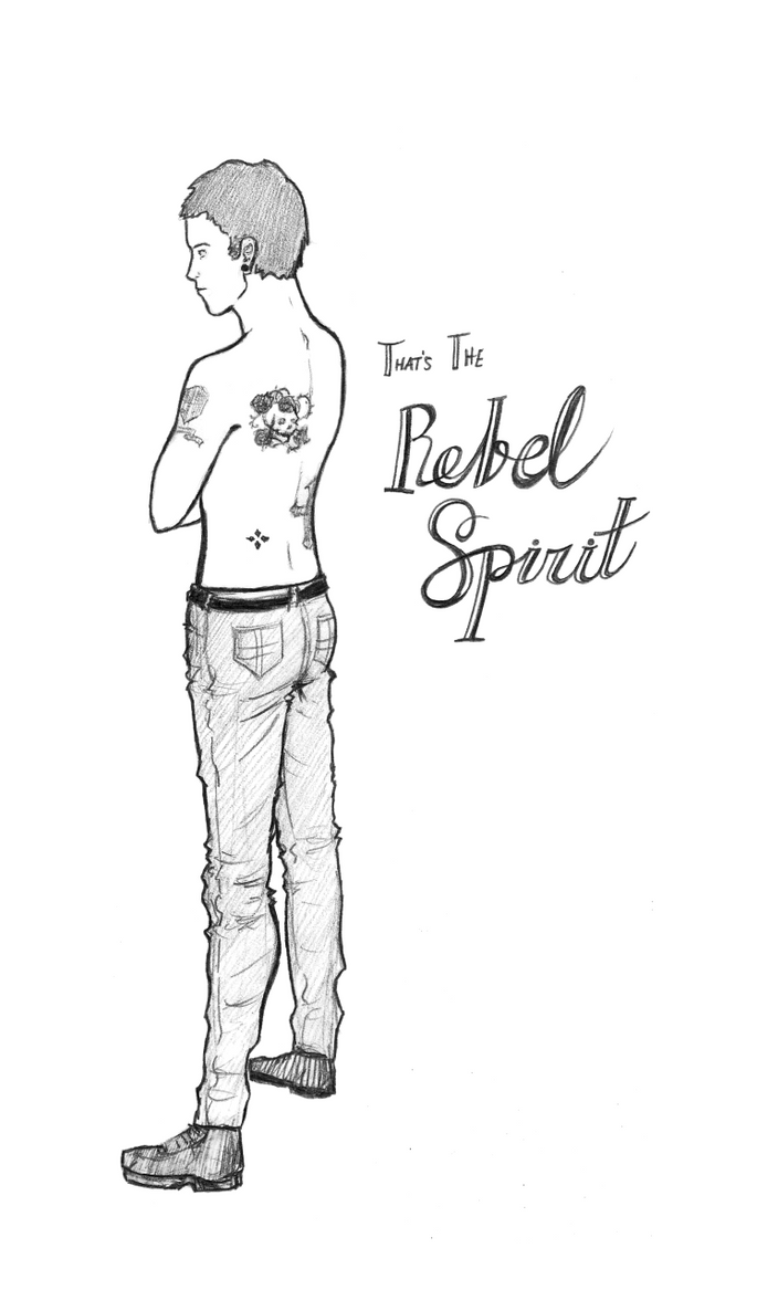 That's the Rebel Spirit by anazura