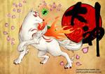Amaterasu -Okami by July-MonMon