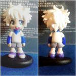 Killua -cold porcelain- by July-MonMon