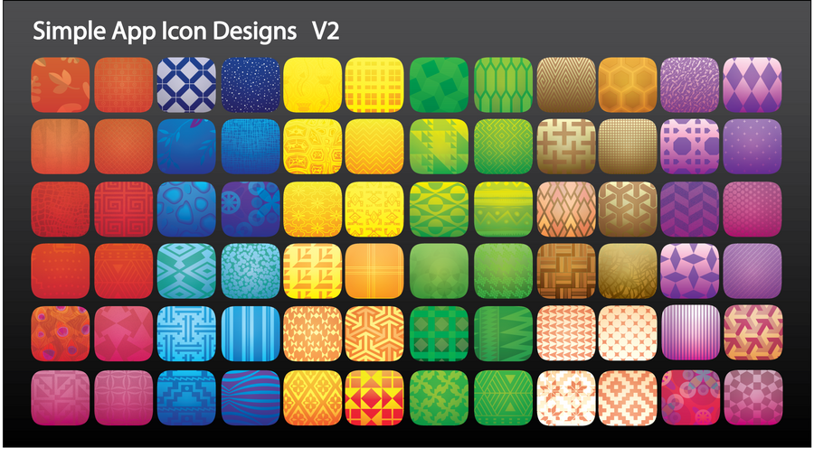 Simple app icon designs by itching2design on deviantart for Easy app design