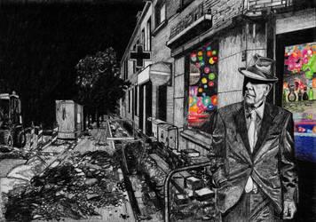Leonard Cohen - A Street by JacoDM