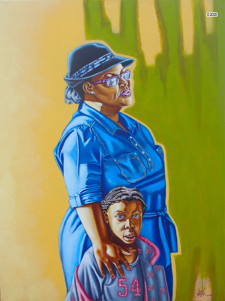 Mother And Child Oils by MbK14