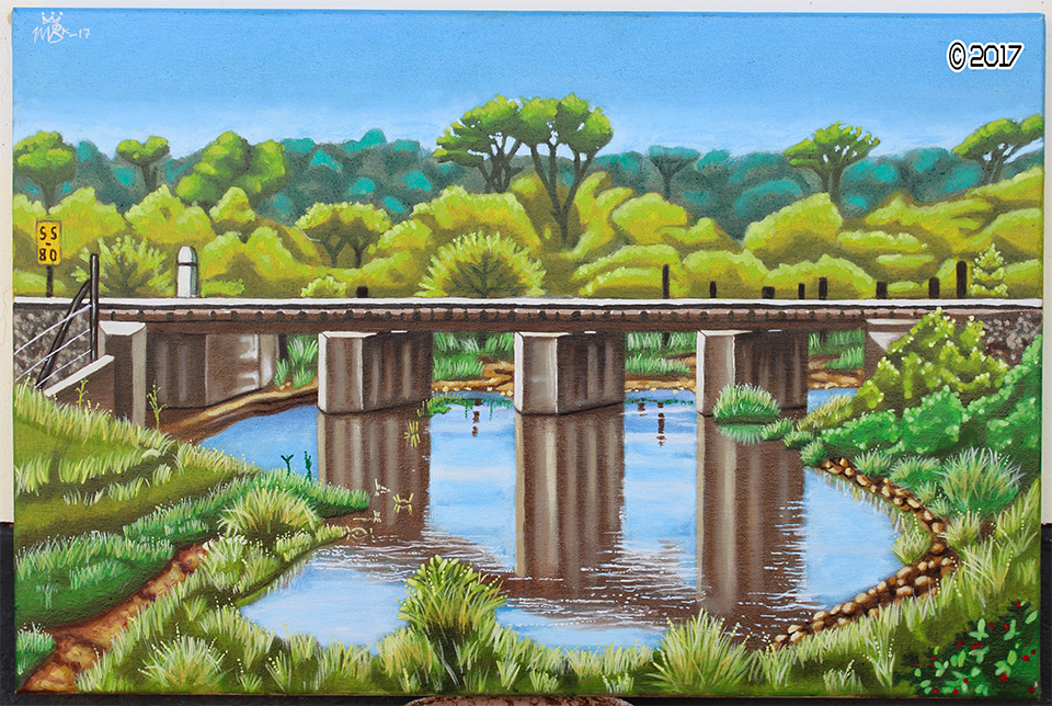 'Small Train Bridge' by MbK14