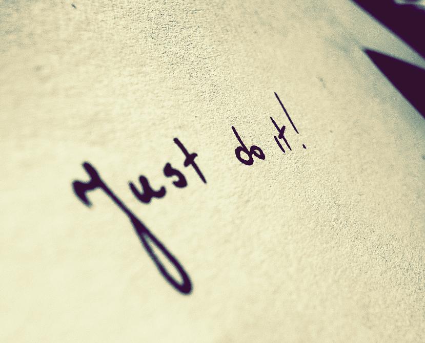 Just do it by MateuszPisarski