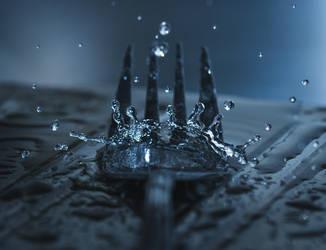 Fork Splash by MateuszPisarski
