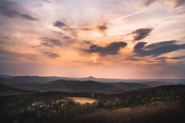 Lovely sunset in Poland by MateuszPisarski