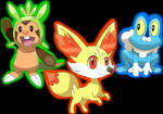 Pokemon X and Y - Choose your starter