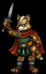 Fox McCloud - Halloween Hero by VixDojoFox