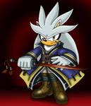 Silver the Swordmaster by VixDojoFox