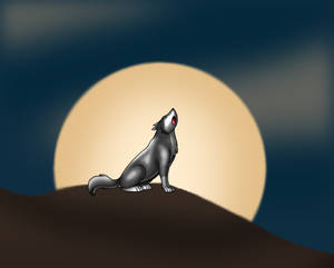 Howl at the harvest moon
