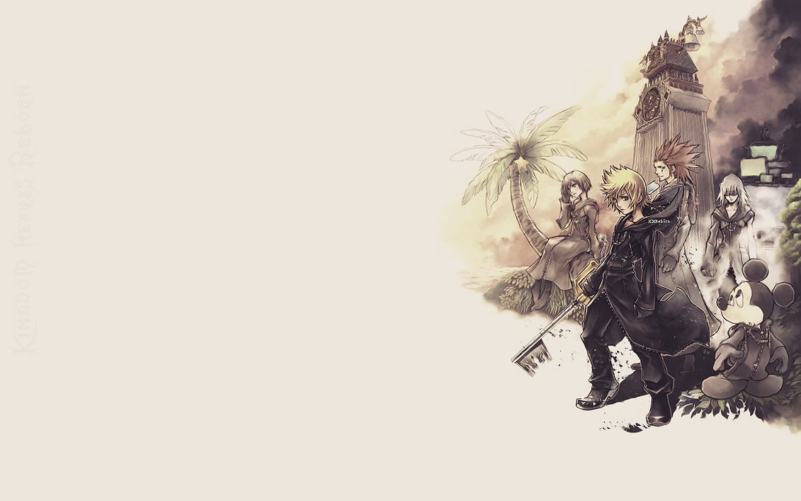 Roxas Wallpaper By Dhriel On DeviantArt