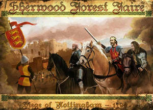 The siege of Nottingham Castle 2015
