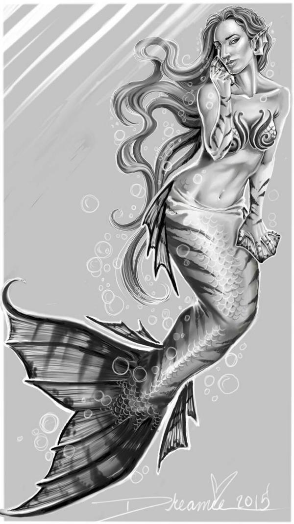 Dreamie mermaid