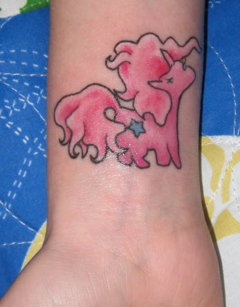 Gay Unicorn Tattoo 23